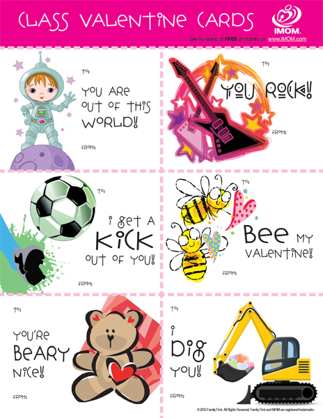 This is a picture of Decisive Printable Valentine Cards for Classmates