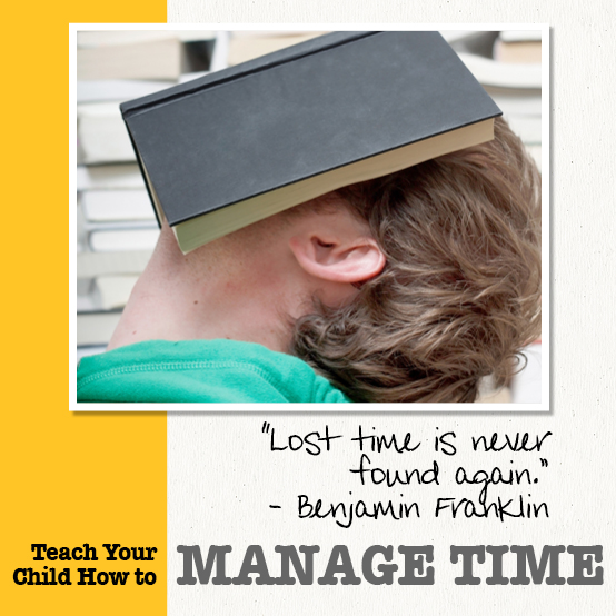 teach your kids how to manage time