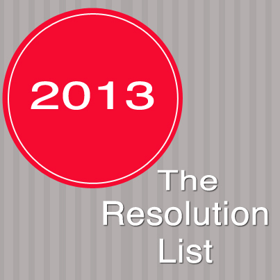 The Resolution List