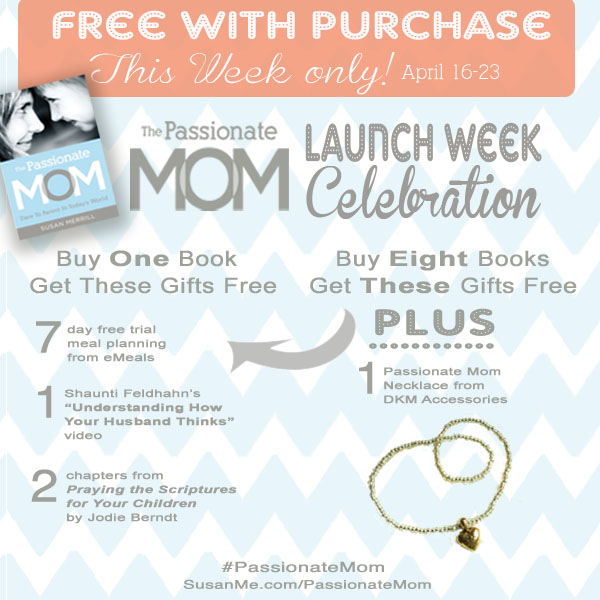 The Passionate Mom free with purchase offer