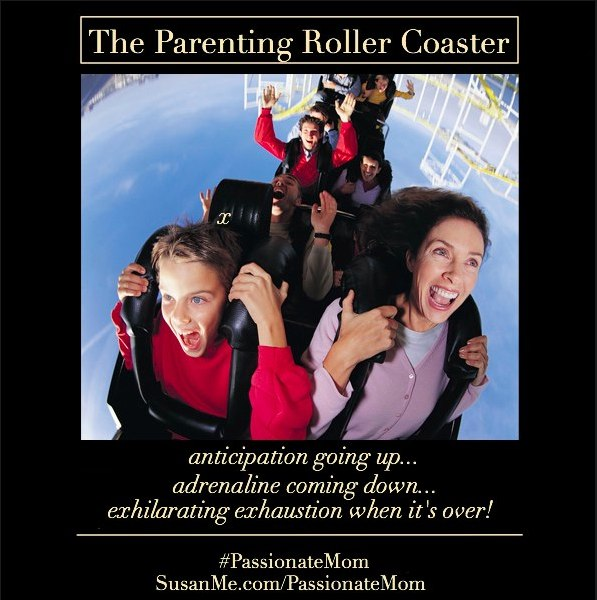 the parenting roller coaster