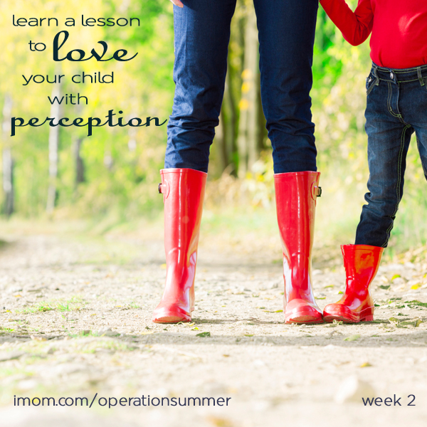 Operation Summer Lovin 2013: Week 2 Perception