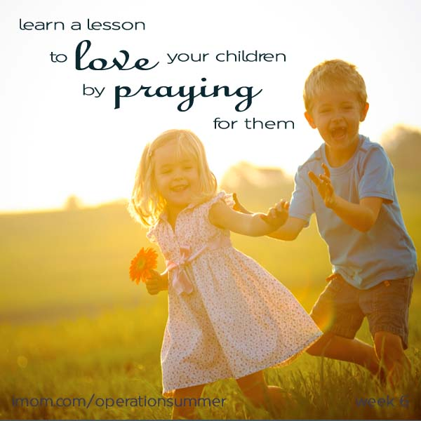 Pray for your child