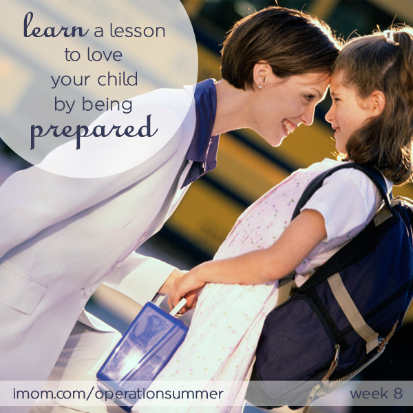 love your child by being prepared