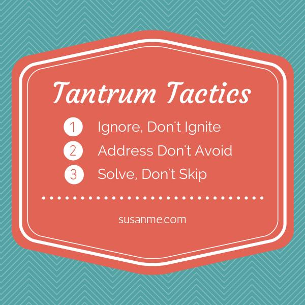 Tantrum Tactics
