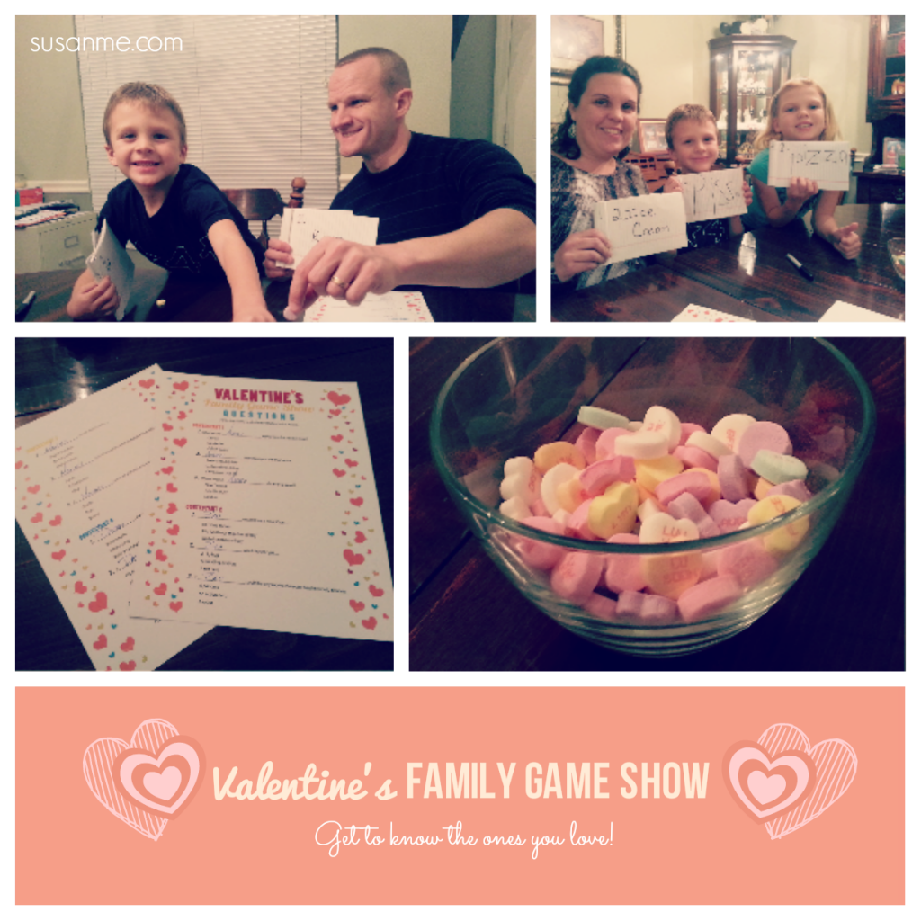 Valentine's Family Game Show