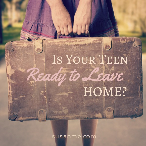 Teen Ready to Leave Home
