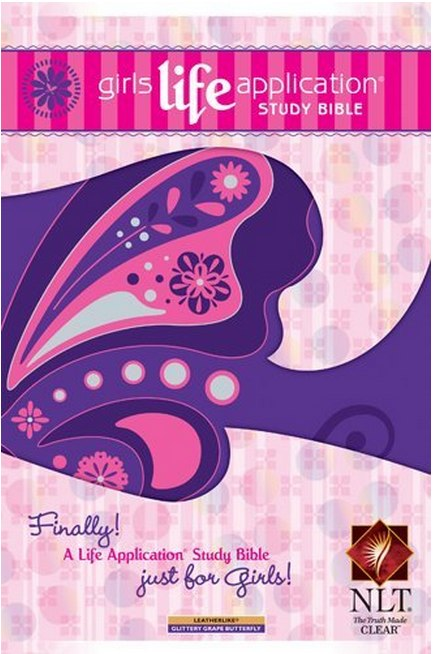 Girls Life Application Study Bible NLT _ Bibles