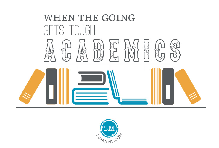 when the going gets tough: academics