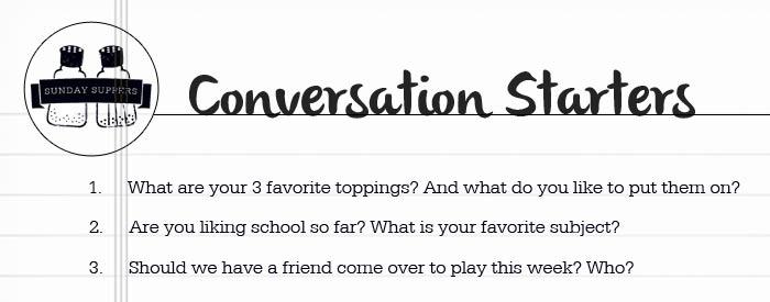 pancake conversation starters