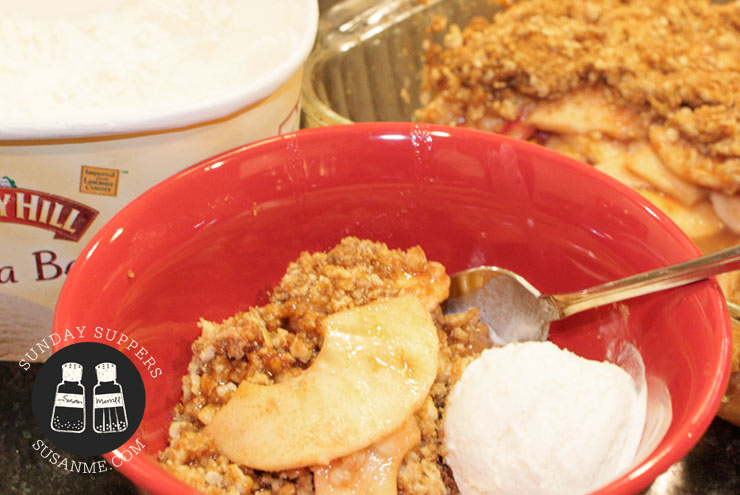 apple-crumble
