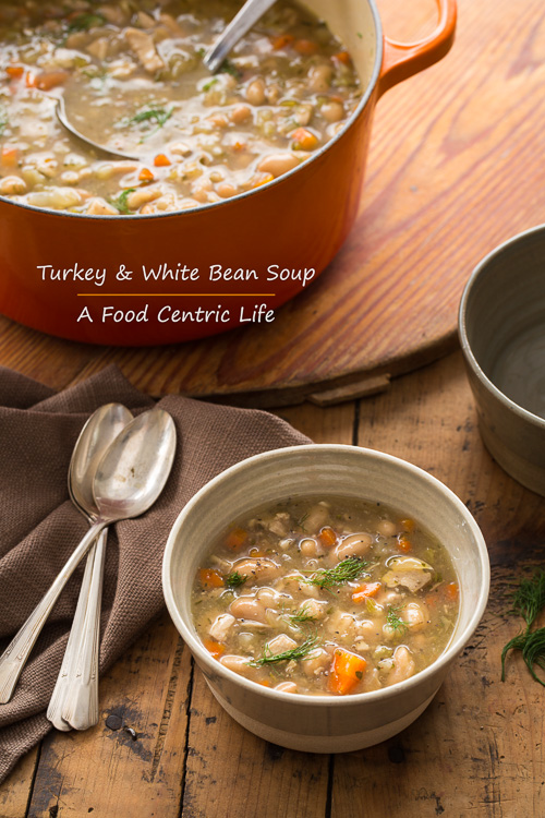 turkey and bean soup