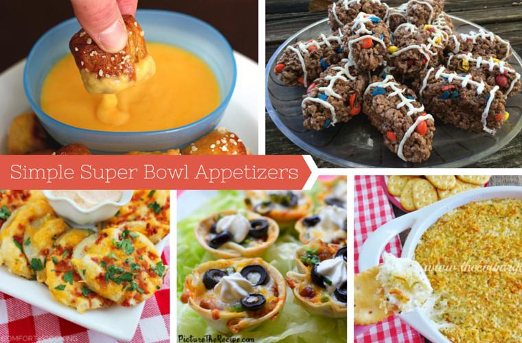 simple super bowl appetizers