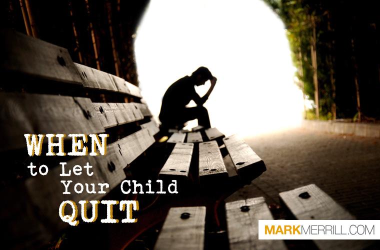 child quit