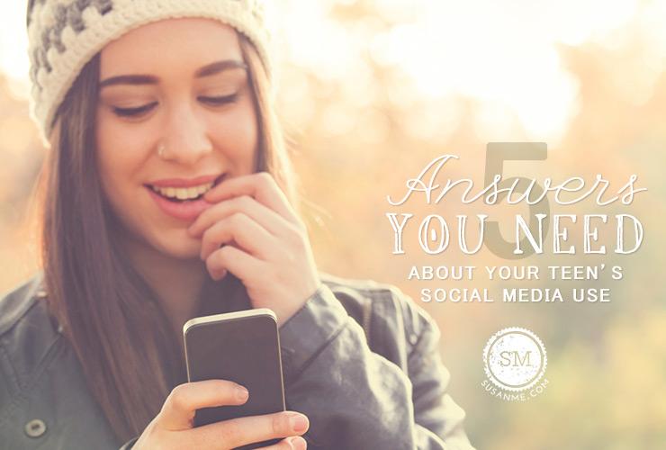 teen social media use