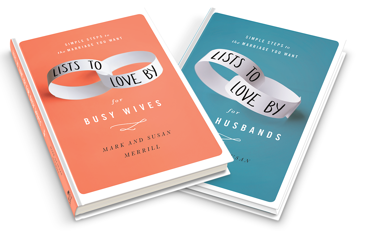 Lists to Love By books for simple steps to the marriage you want