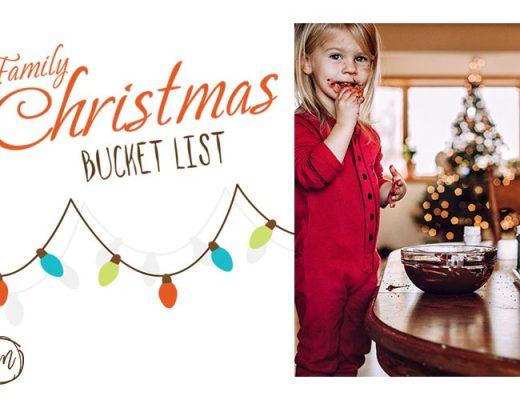family christmas bucket list